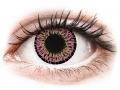 Barevné kontaktní čočky MaxVue Vision - ColourVUE Elegance Pink - nedioptrické
