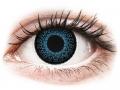 Barevné kontaktní čočky MaxVue Vision - ColourVUE Eyelush Blue - nedioptrické