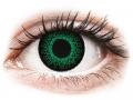 Barevné kontaktní čočky MaxVue Vision - ColourVUE Eyelush Green - dioptrické