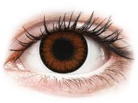 Barevné kontaktní čočky - ColourVUE BigEyes Pretty Hazel - nedioptrické