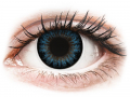 Barevné kontaktní čočky MaxVue Vision - ColourVUE BigEyes Cool Blue - dioptrické