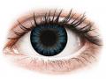 Barevné kontaktní čočky MaxVue Vision - ColourVUE BigEyes Cool Blue - nedioptrické