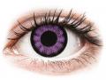 Barevné kontaktní čočky - ColourVUE BigEyes Ultra Violet - nedioptrické