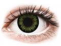 Barevné kontaktní čočky - ColourVUE BigEyes Party Green - nedioptrické
