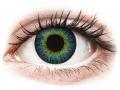 Barevné kontaktní čočky MaxVue Vision - ColourVUE Fusion Yellow Blue - nedioptrické