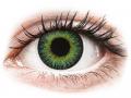 Barevné kontaktní čočky MaxVue Vision - ColourVUE Fusion Green Yellow - nedioptrické
