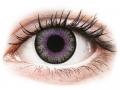 Barevné kontaktní čočky - ColourVUE Fusion Violet Gray - nedioptrické