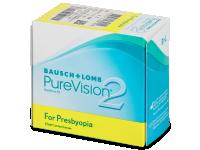 Multifokální kontaktní čočky - PureVision 2 for Presbyopia