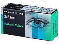 SofLens Natural Colors Aquamarine - nedioptrické (2čočky)