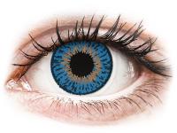 Barevné kontaktní čočky - Expressions Colors Dark Blue - dioptrické