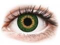 Kontaktní čočky Cooper Vision - Expressions Colors Green - nedioptrické
