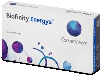 Měsíční kontaktní čočky - Biofinity Energys
