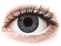 Kontaktní čočky levně - FreshLook ColorBlends Blue - nedioptrické