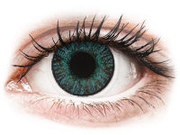Kontaktní čočky levně - FreshLook ColorBlends Brilliant Blue - nedioptrické