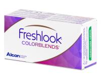 FreshLook ColorBlends Brilliant Blue - nedioptrické (2čočky)