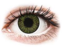 Kontaktní čočky levně - FreshLook ColorBlends Green - nedioptrické
