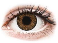 Kontaktní čočky levně - FreshLook ColorBlends Honey - dioptrické