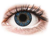 Kontaktní čočky levně - FreshLook ColorBlends True Sapphire - dioptrické