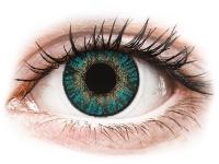 Kontaktní čočky levně - FreshLook ColorBlends Turquoise - nedioptrické