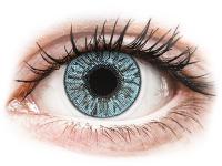 Kontaktní čočky levně - FreshLook Colors Blue - dioptrické