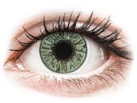 Kontaktní čočky levně - FreshLook Colors Green  - nedioptrické