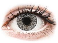 Kontaktní čočky levně - FreshLook Colors Misty Gray - dioptrické