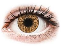 Kontaktní čočky levně - FreshLook Colors Hazel - dioptrické