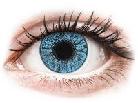 Kontaktní čočky levně - FreshLook Colors Sapphire Blue - dioptrické