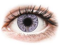 Kontaktní čočky levně - FreshLook Colors Violet - nedioptrické
