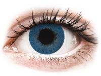 Kontaktní čočky levně - FreshLook Dimensions Pacific Blue - dioptrické