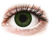 Kontaktní čočky levně - FreshLook Dimensions Sea Green - dioptrické