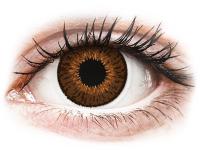 Barevné kontaktní čočky - Expressions Colors Brown - dioptrické