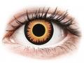 Barevné kontaktní čočky MaxVue Vision - ColourVUE Crazy Lens - Orange Werewolf - nedioptrické jednodenní