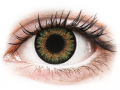 Barevné kontaktní čočky MaxVue Vision - ColourVue One Day TruBlends Green - dioptrické