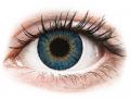 Barevné kontaktní čočky - Air Optix Colors - True Sapphire - dioptrické
