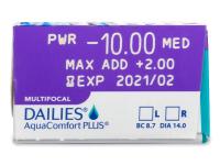 Dailies AquaComfort Plus Multifocal (30čoček)
