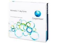 Jednodenní kontaktní čočky - Biomedics 1 Day Extra