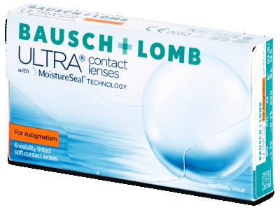 Bausch + Lomb ULTRA for Astigmatism (6 čočky)