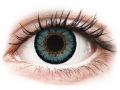 Barevné kontaktní čočky MaxVue Vision - ColourVUE 3 Tones Aqua - nedioptrické