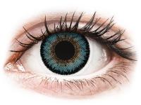 Barevné kontaktní čočky - ColourVUE 3 Tones Aqua - nedioptrické