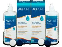 Roztoky na kontaktní čočky - Roztok AQ Pure 2 x 360ml