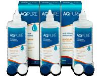 Roztoky na kontaktní čočky - Roztok AQ Pure 3 x 360ml