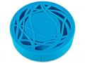 Pouzdra na kontaktní čočky se zrcátkem - Kazetka s ornamentem - modrá