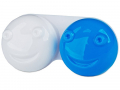Pouzdra na kontaktní čočky - Pouzdro na čočky 3D - modré