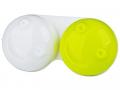 Pouzdra na kontaktní čočky - Pouzdro na čočky 3D - zelené