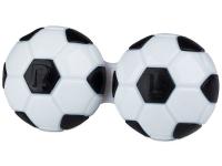 Příslušenství k čočkám - Pouzdro na čočky Fotbal - černé