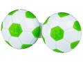 Pouzdra na kontaktní čočky - Pouzdro na čočky Fotbal - zelené