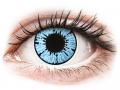 Barevné kontaktní čočky - ColourVUE Crazy Lens - Blizzard - nedioptrické