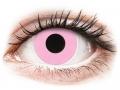 Barevné kontaktní čočky - ColourVUE Crazy Lens - Barbie Pink - nedioptrické