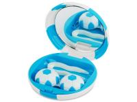 Příslušenství k čočkám - Kazetka Fotbalový míč - modrá